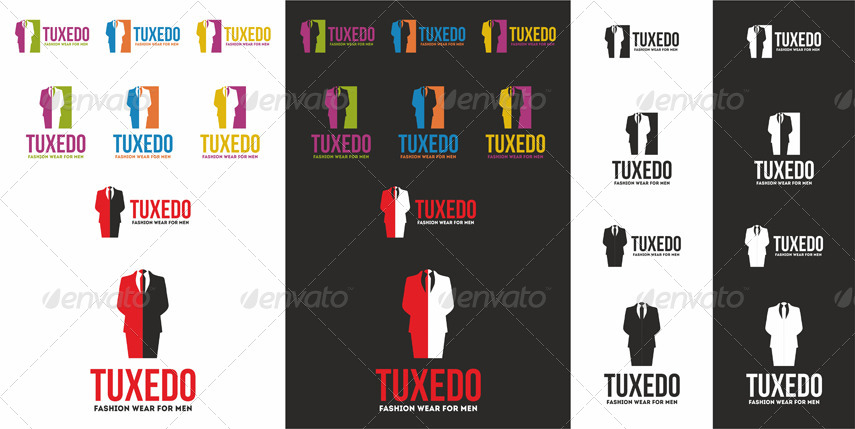 Tuxedo - Men Fashion Wear Logo