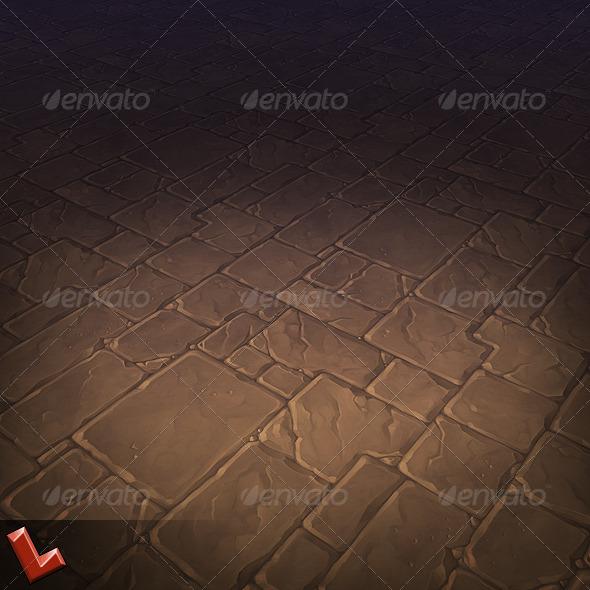 3DOcean Stone Floor Tile 01 5640805