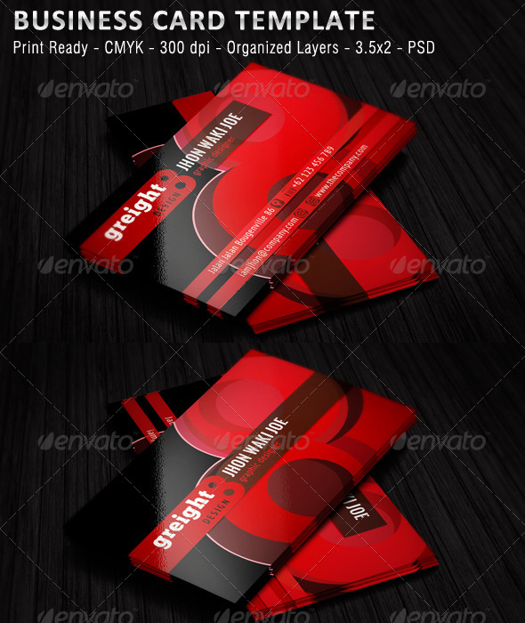 GraphicRiver Personal Business Card v2 5640855