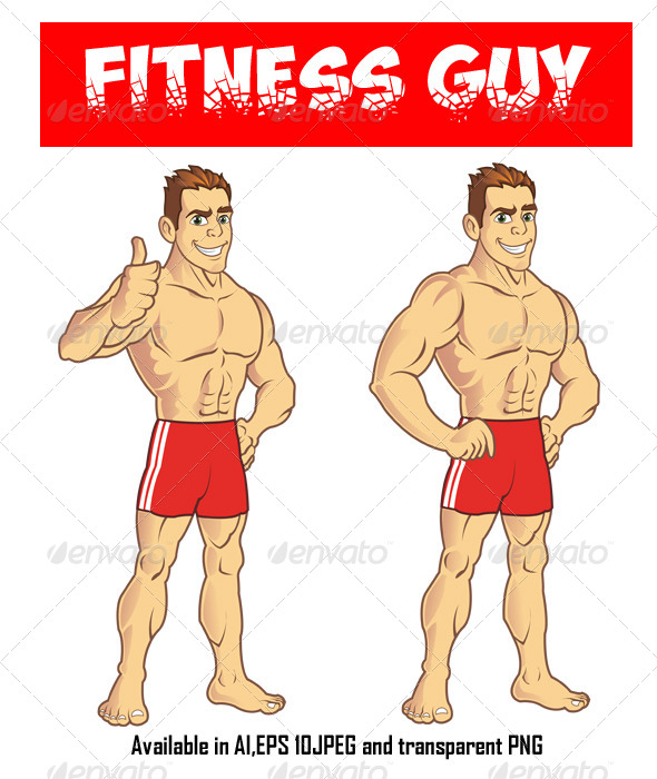 GraphicRiver Fitness Guy 5178197