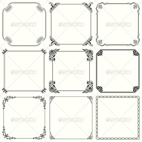 GraphicRiver Decorative Frames 5641092