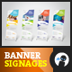 Social - Banner Signage 3 - GraphicRiver Item for Sale