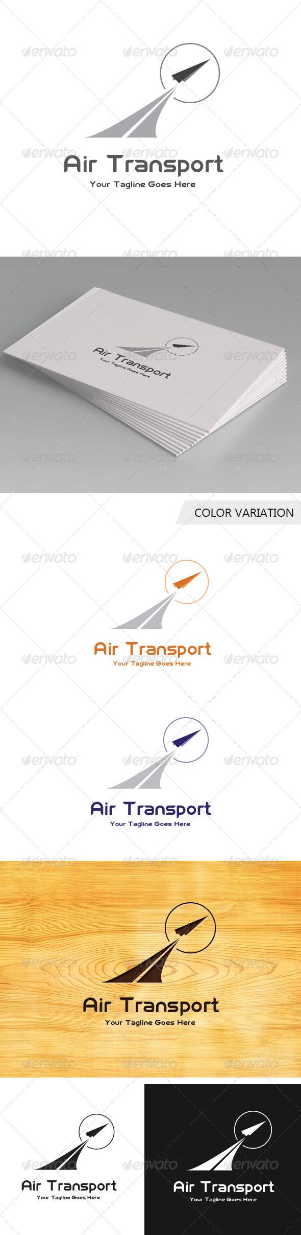GraphicRiver Air transport logo Template 5641253