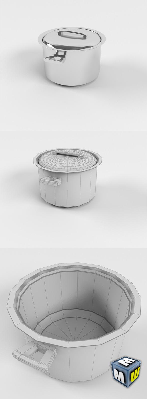 3DOcean Pot MAX 2011 5641324