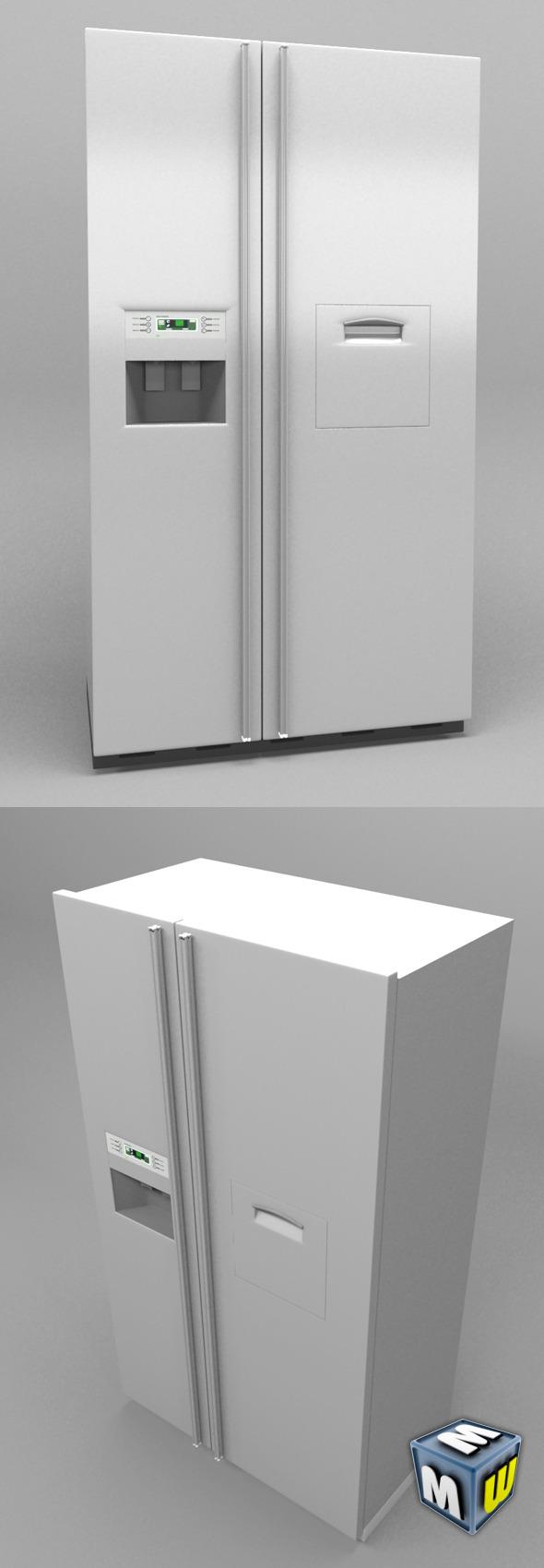 3DOcean Refrigerator Kitchen 5641355