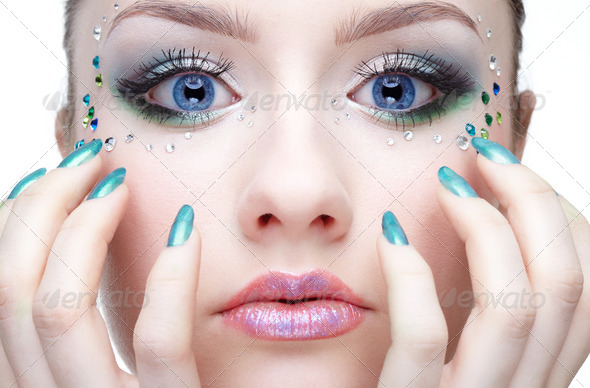 make-up - Stock Photo - Images