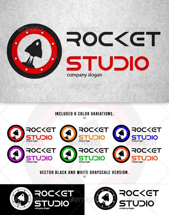 GraphicRiver Rocket Studio Logo 5641617