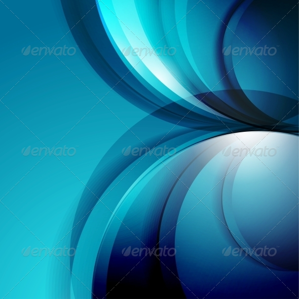 GraphicRiver Abstract 3D Waves Modern Business Background 5641676