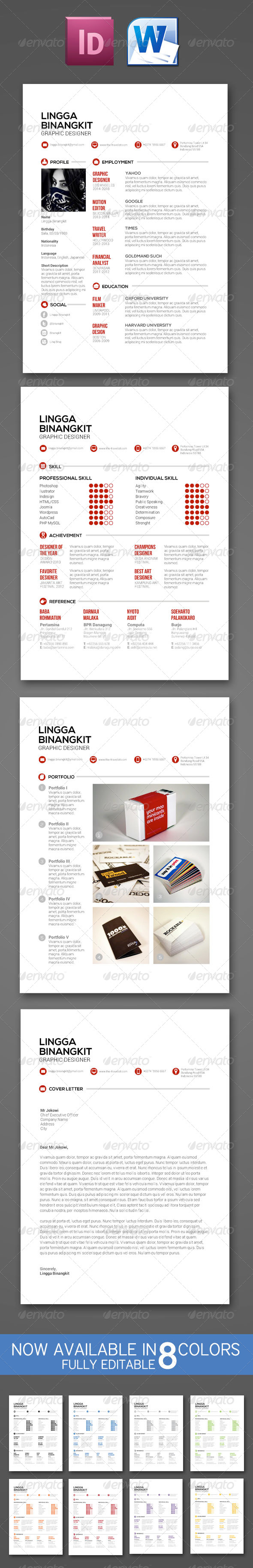 GraphicRiver Simple Resume 5641861