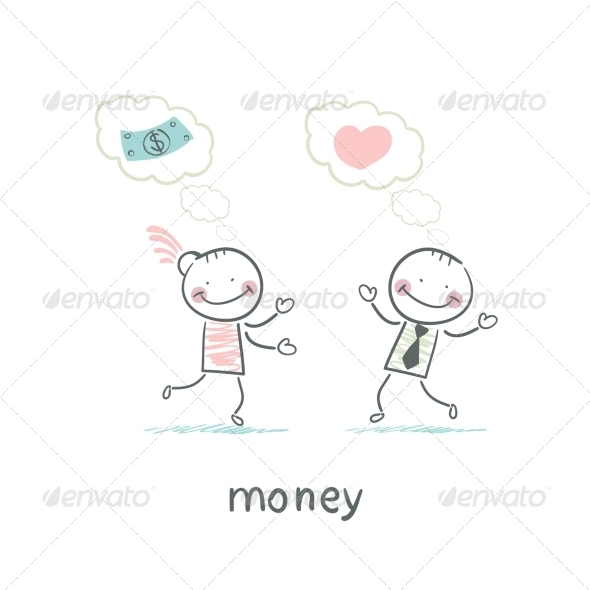 GraphicRiver Man and Money 5642004