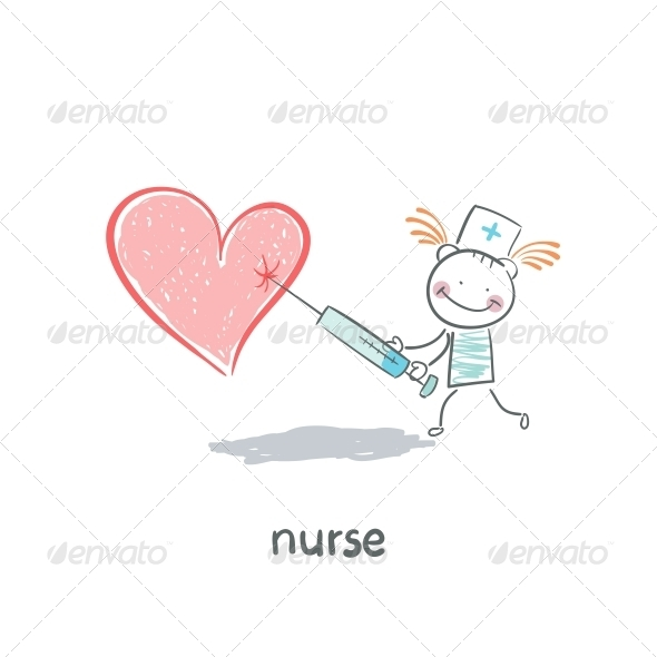 GraphicRiver Nurse 5642047