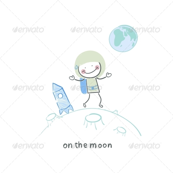GraphicRiver On the Moon 5642282