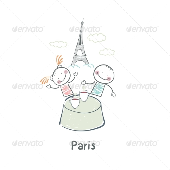 GraphicRiver Paris 5642304