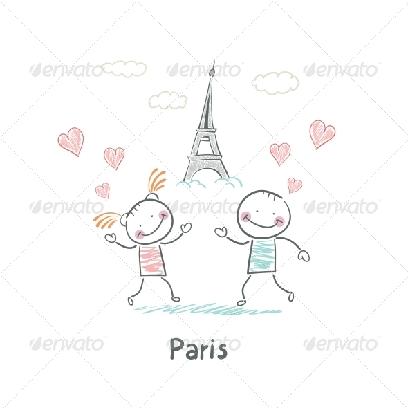 GraphicRiver Paris 5642347