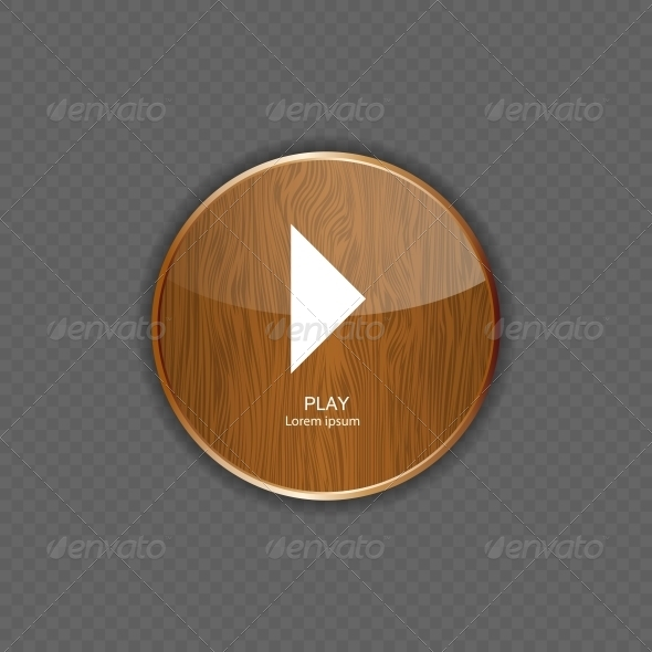 GraphicRiver Music Wood Application Icons Vector Illustration 5642369