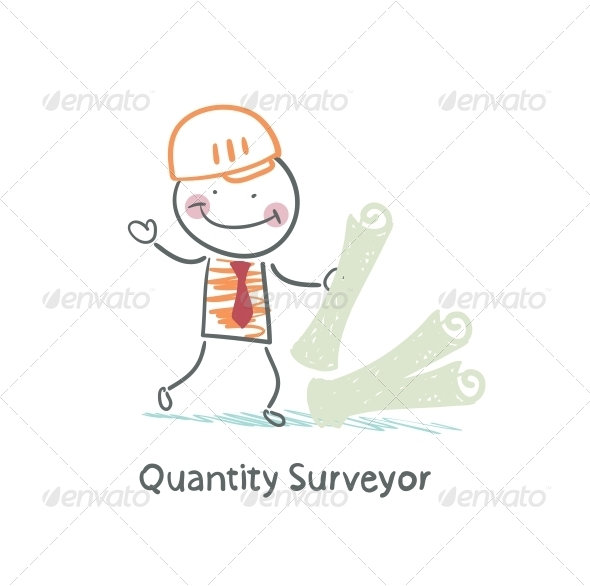 GraphicRiver Quantity Surveyor with the Documents 5642538