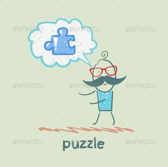 GraphicRiver Puzzle 5642553