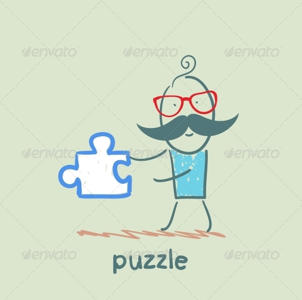 GraphicRiver Puzzle 5642558