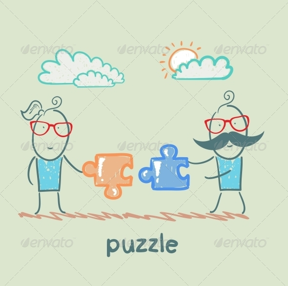 GraphicRiver Puzzle 5642566