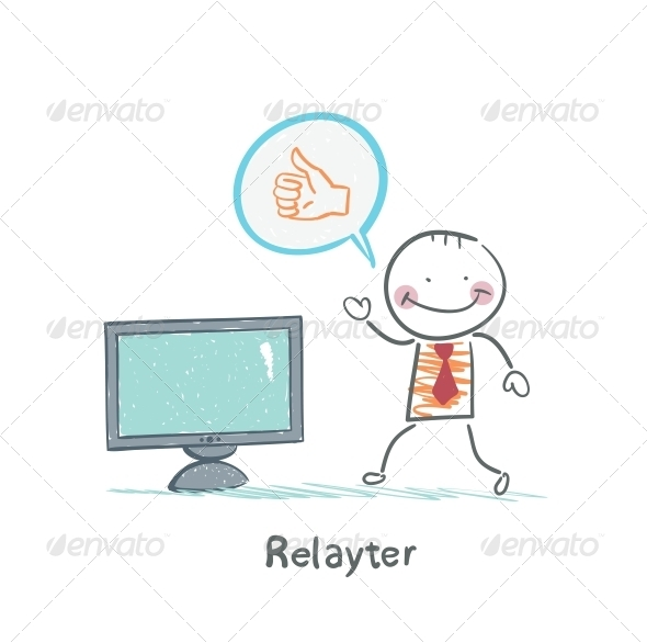 GraphicRiver Relayter Advertises TV 5642603