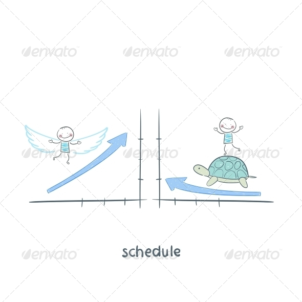 GraphicRiver Schedule Illustrations 5642607