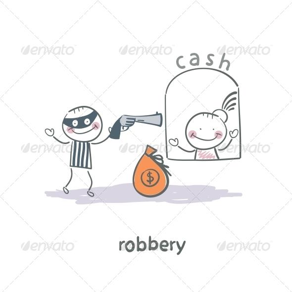 GraphicRiver Robber 5642635