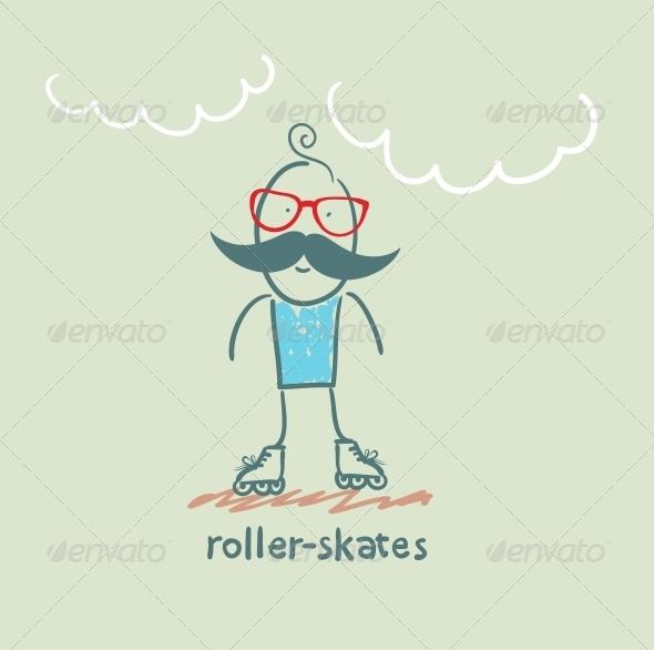 GraphicRiver Roller-Skates 5642636