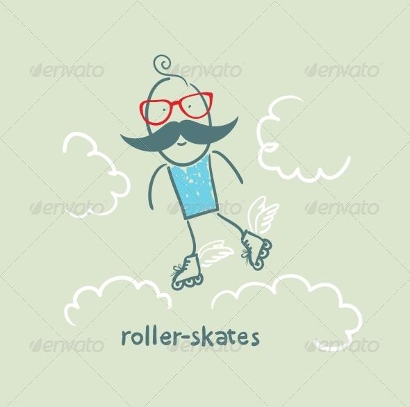 GraphicRiver Roller-Skates 5642651