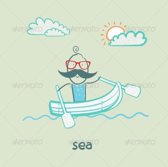 GraphicRiver Sea 5642686