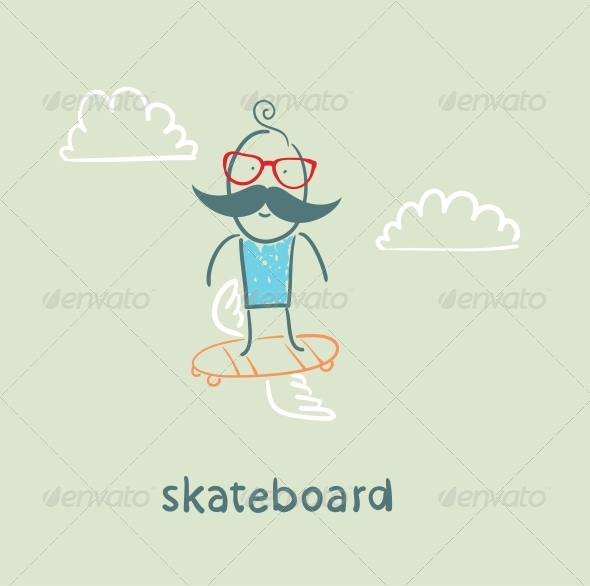 GraphicRiver Skateboard 5642693