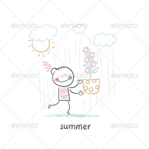 GraphicRiver Summer Walk 5642774