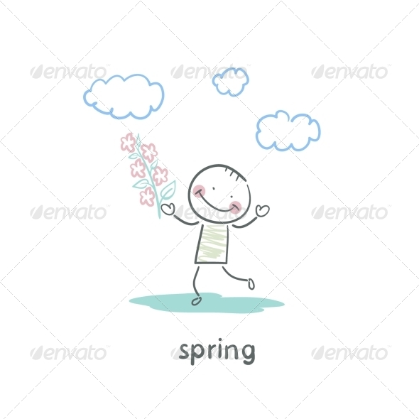 GraphicRiver Spring Walk 5642890