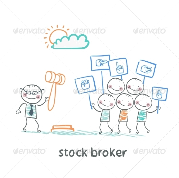GraphicRiver Stock Brokers Buy Stocks 5642899