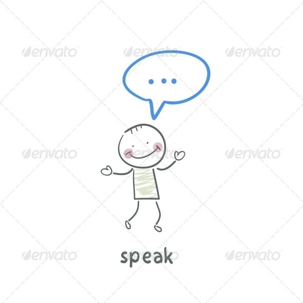 GraphicRiver Speak 5642919