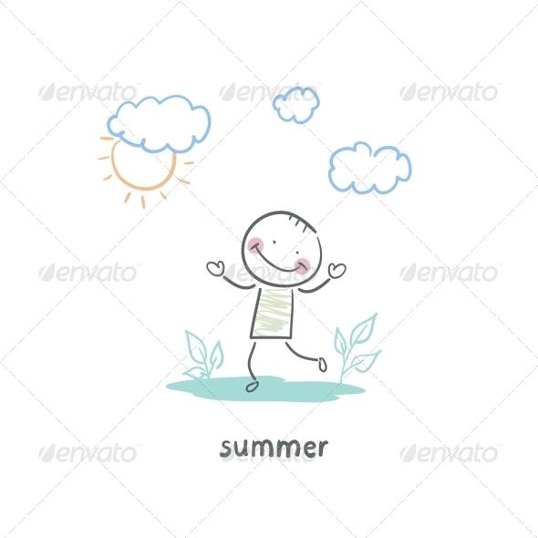GraphicRiver Summer Walk 5642935