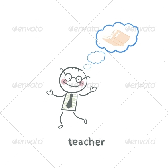 GraphicRiver Teacher 5642941