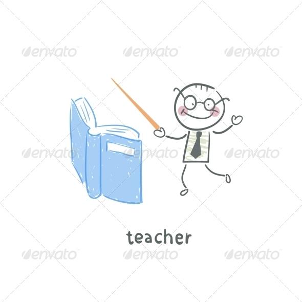 GraphicRiver Teacher 5642946