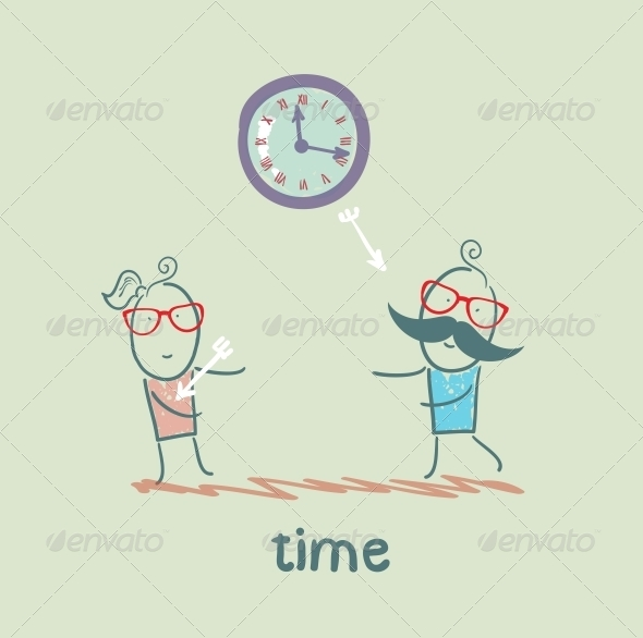GraphicRiver Time Kills Relationships 5642951