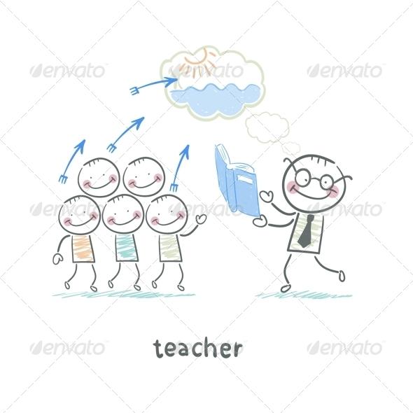 GraphicRiver Teacher 5642953
