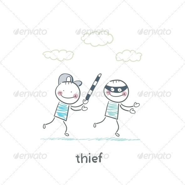 GraphicRiver Thief 5642954