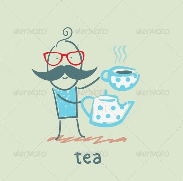 GraphicRiver Tea 5642958