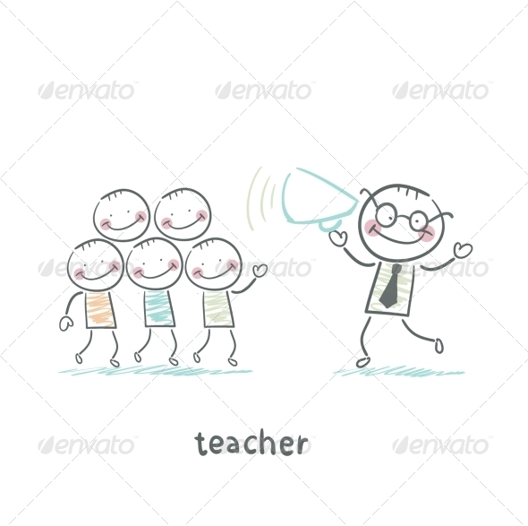 GraphicRiver Teacher 5642959