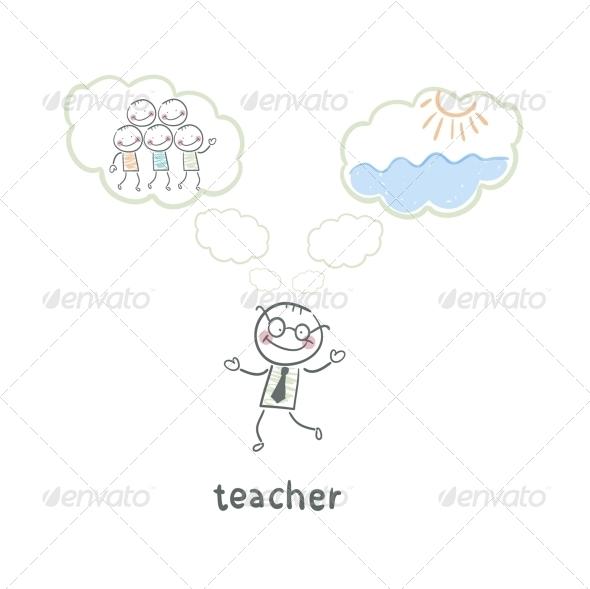 GraphicRiver Teacher 5642965