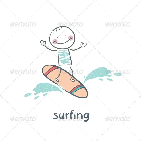 GraphicRiver Surfer 5642969