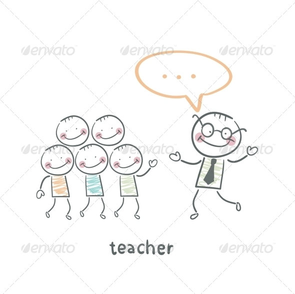 GraphicRiver Teacher 5642977