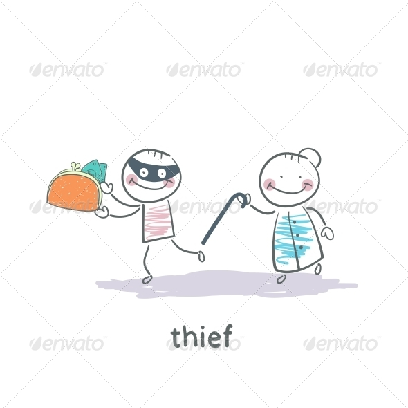 GraphicRiver Thief 5642978