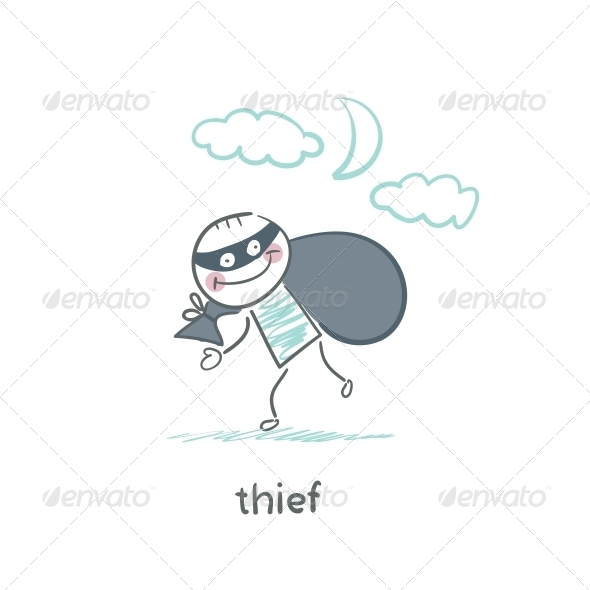 GraphicRiver Thief 5642983