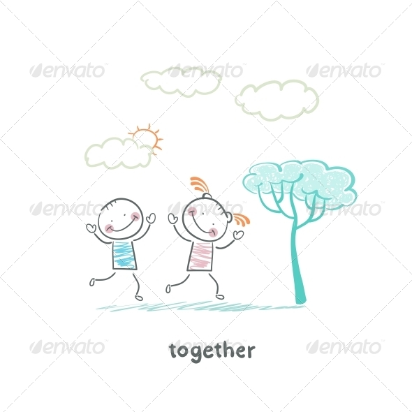 GraphicRiver Couple in Love 5642995