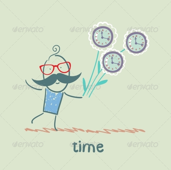 GraphicRiver Gives People Time 5642998