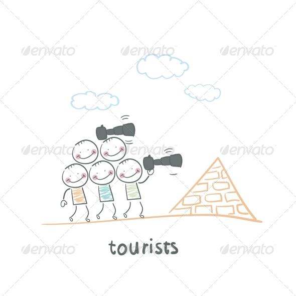 GraphicRiver Tourists 5643001